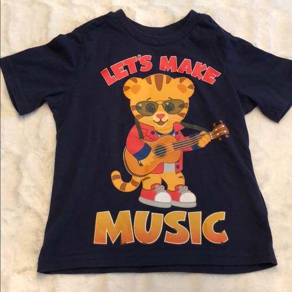 The Fred Rogers Company Shirts Tops Daniel Tiger Kids Shirt Poshmark
